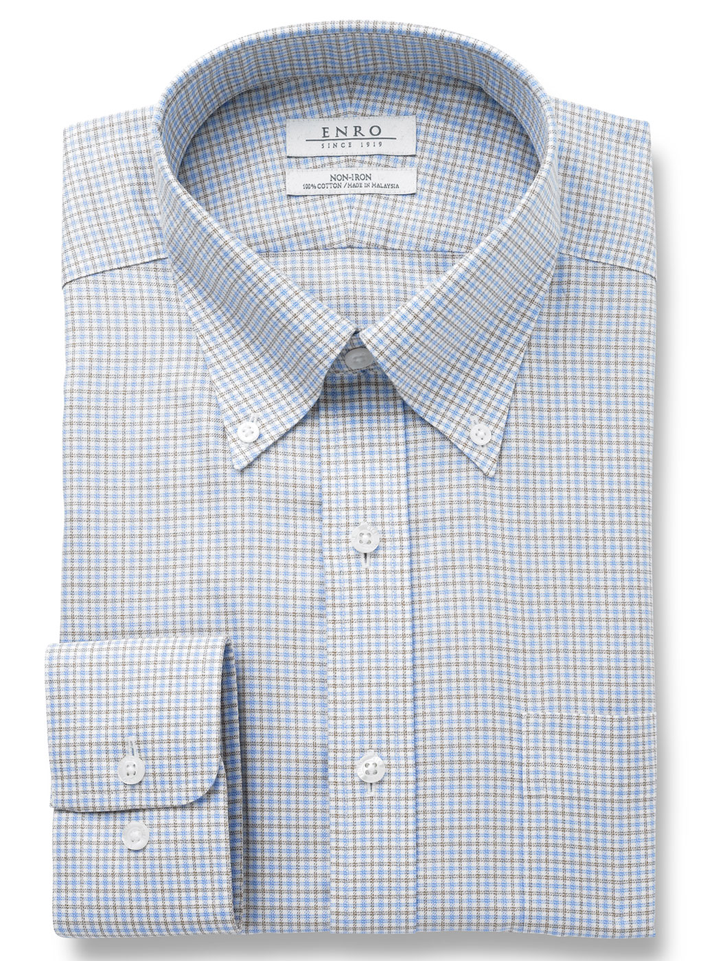 Enro Pattern Button Down Ls Dress Shirt Nattys Llc